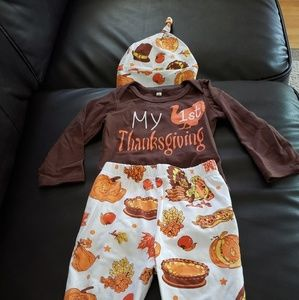 Baby's 1st Thanksgiving outfit